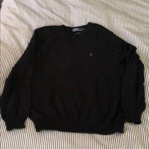 Polo by Ralph Lauren, black sweater, sz. M